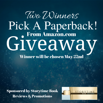 Paperback giveaway