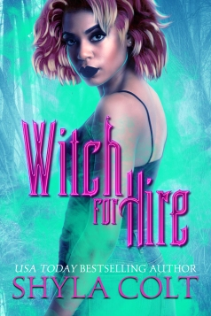 Witch for hire cover