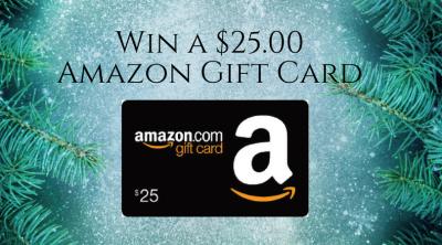 Giveaway $25.00 Amazon Gift Card